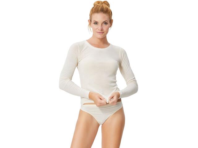 super.natural Scarlett Rib LS 165 Shirt Women Bones